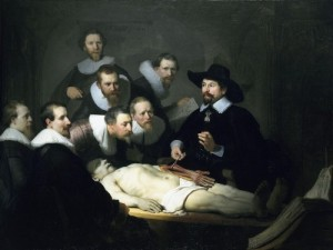 Rembrandt, Lección de anatomía del Dr. Nicolaes Tulp, 1632